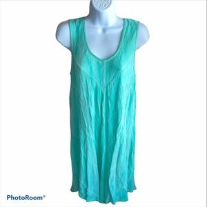 India Boutique Casual Turquoise Dress